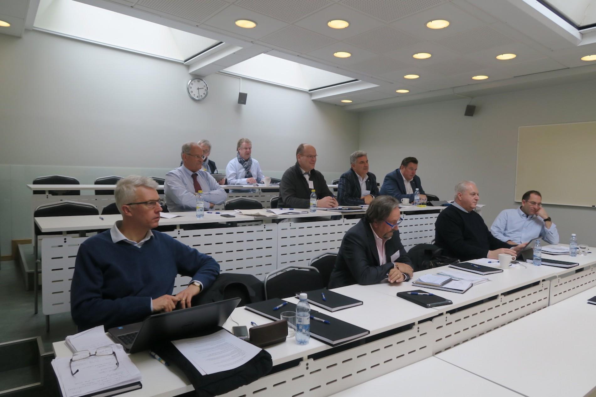 Reunião da EUSA na Suécia